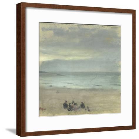 Marine-Edgar Degas-Framed Art Print