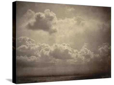 Marine, étude de nuages-Gustave Le Gray-Stretched Canvas Print