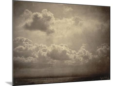 Marine, étude de nuages-Gustave Le Gray-Mounted Giclee Print