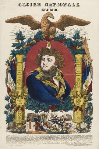 Gloire nationale : Kléber--Stretched Canvas Print
