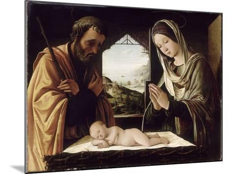 La Nativité-Lorenzo Costa-Mounted Giclee Print