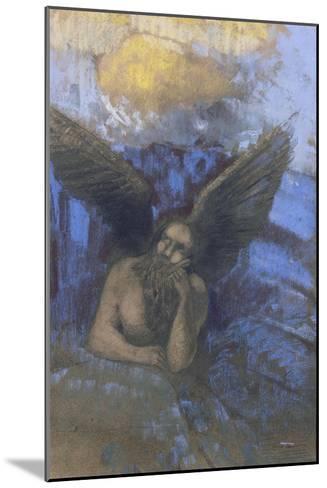Vieil ange-Odilon Redon-Mounted Giclee Print