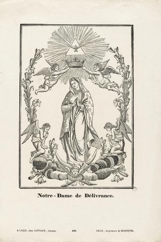 Notre-Dame de Délivrance--Stretched Canvas Print