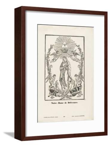 Notre-Dame de Délivrance--Framed Art Print