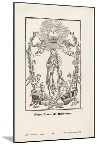 Notre-Dame de Délivrance--Mounted Giclee Print