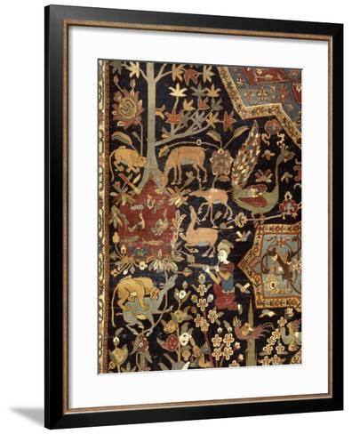 Tapis de Mantes--Framed Art Print