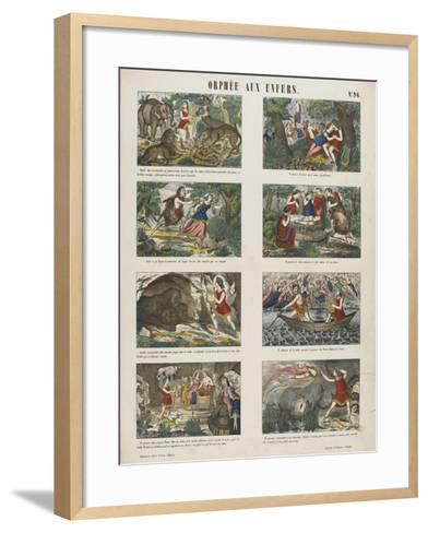 Orphée aux enfers--Framed Art Print