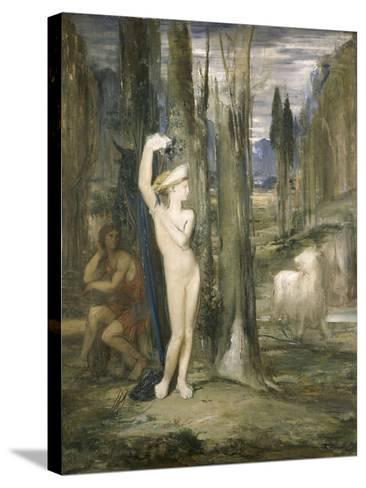 Pasiphaé-Gustave Moreau-Stretched Canvas Print