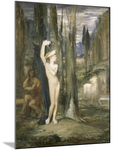 Pasiphaé-Gustave Moreau-Mounted Giclee Print