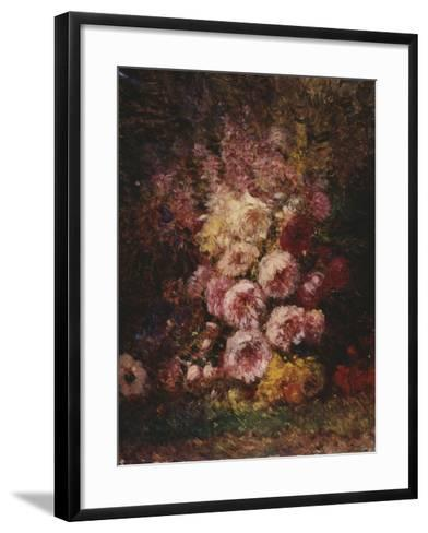 Pivoines-F?lix Ziem-Framed Art Print