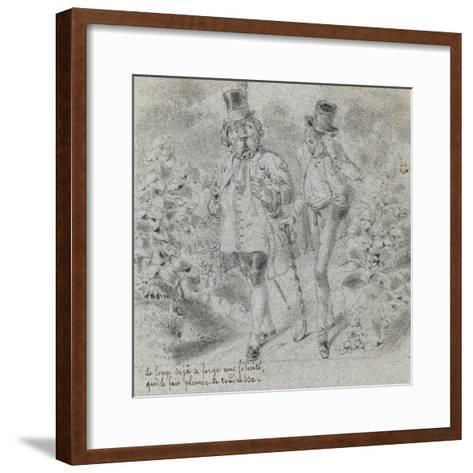 Animaux illustrés--Framed Art Print