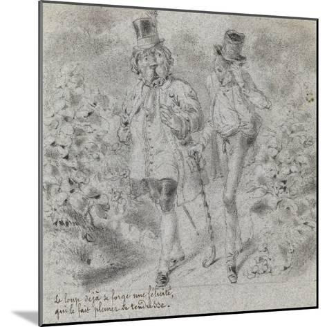 Animaux illustrés--Mounted Giclee Print