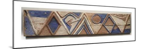 Planche nkita--Mounted Giclee Print