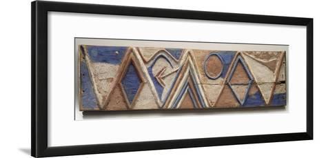 Planche nkita--Framed Art Print
