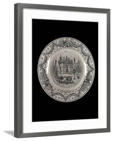 Assiette : Retour des cendres--Framed Art Print