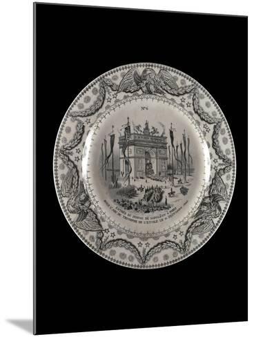Assiette : Retour des cendres--Mounted Giclee Print