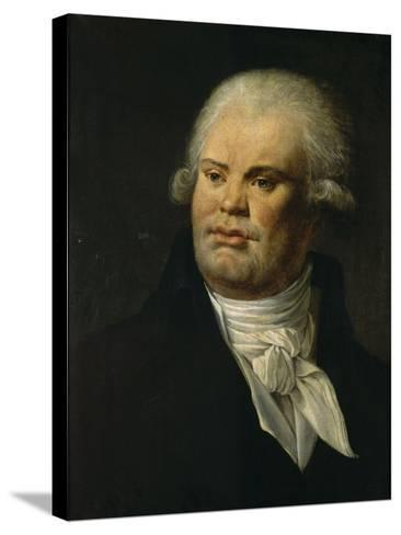 Portrait de Danton--Stretched Canvas Print