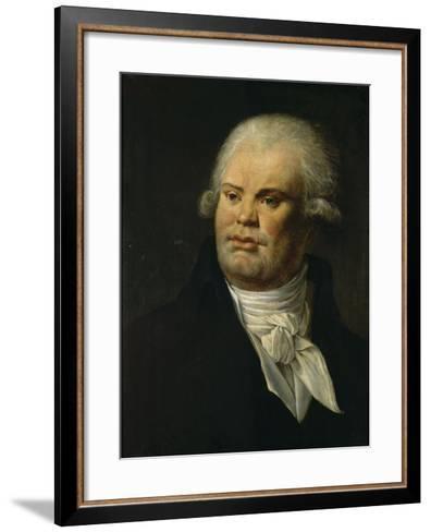 Portrait de Danton--Framed Art Print