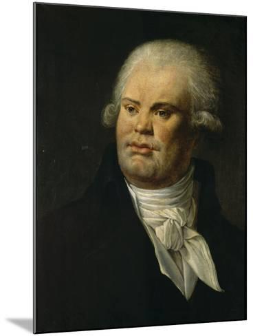 Portrait de Danton--Mounted Giclee Print