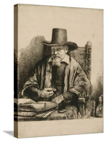 Portrait du docteur Arnold Tholinx ; 1 er état-Rembrandt van Rijn-Stretched Canvas Print