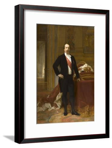 Portrait de Napoléon III-Alexandre Cabanel-Framed Art Print