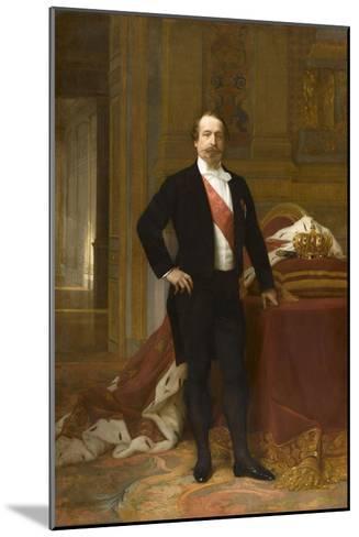 Portrait de Napoléon III-Alexandre Cabanel-Mounted Giclee Print