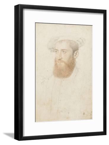 Portrait d'inconnu-Jean Clouet-Framed Art Print