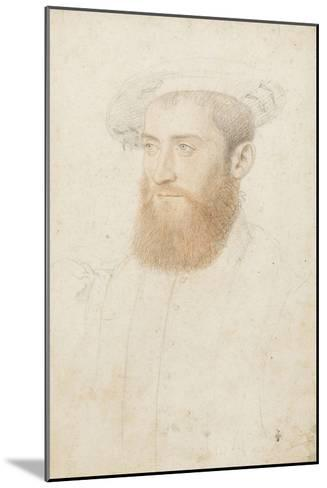 Portrait d'inconnu-Jean Clouet-Mounted Giclee Print