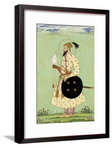 Portrait du prince Mohammed Uu Azzam Shah Alem--Framed Art Print
