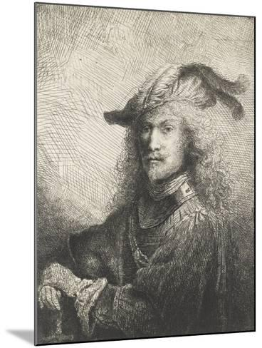Portrait d'officier-Ferdinand Bol-Mounted Giclee Print