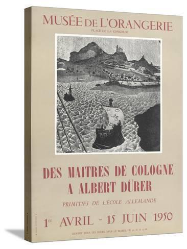 Affiche : Des maîtres de Colognes à Albrecht Dürer--Stretched Canvas Print