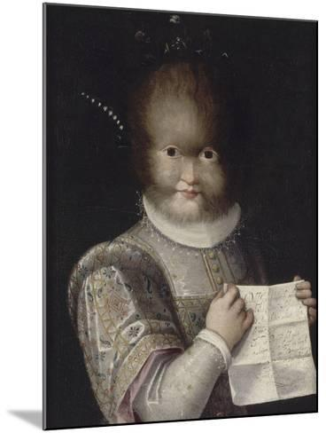 Portrait de Tonetta, fille de Gonsalvo-Lavinia Fontana-Mounted Giclee Print