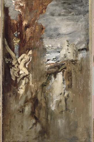 Prom?th?e-Gustave Moreau-Stretched Canvas Print