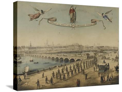 Souvenir du tour de France--Stretched Canvas Print