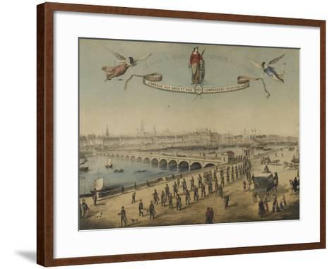 Souvenir du tour de France--Framed Art Print