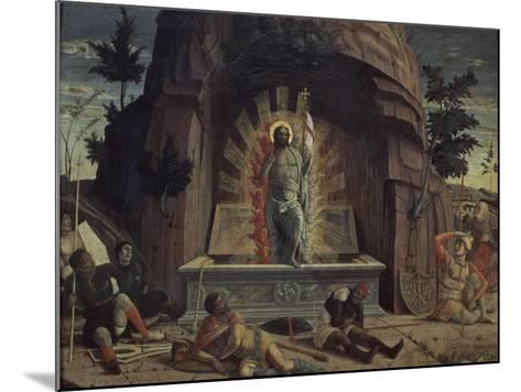 La Résurrection-Andrea Mantegna-Mounted Giclee Print