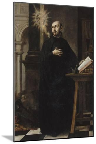Saint Ignatius of Loyola Received the Name of Jesus-Juan de Valdes Leal-Mounted Giclee Print