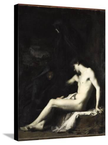 Saint S?bastien-Jean Jacques Henner-Stretched Canvas Print
