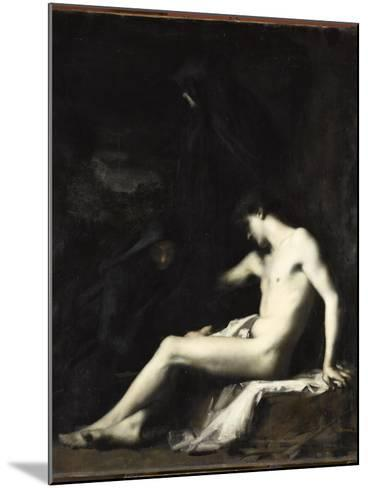 Saint S?bastien-Jean Jacques Henner-Mounted Giclee Print