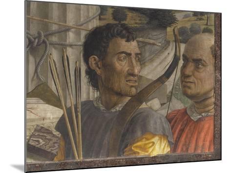 Saint Sébastien-Andrea Mantegna-Mounted Giclee Print