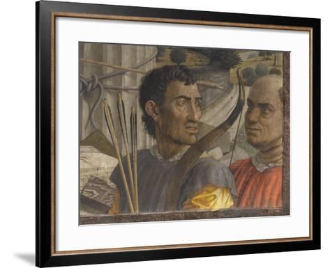 Saint Sébastien-Andrea Mantegna-Framed Art Print