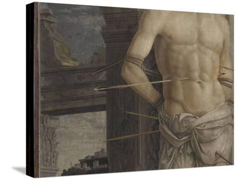 Saint Sébastien-Andrea Mantegna-Stretched Canvas Print