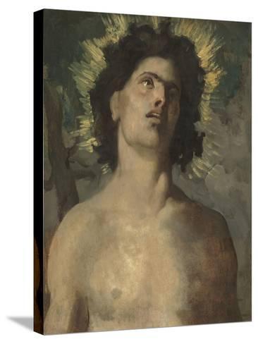 Saint Sébastien-Pierre Puvis de Chavannes-Stretched Canvas Print