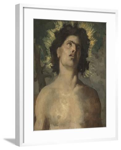 Saint Sébastien-Pierre Puvis de Chavannes-Framed Art Print