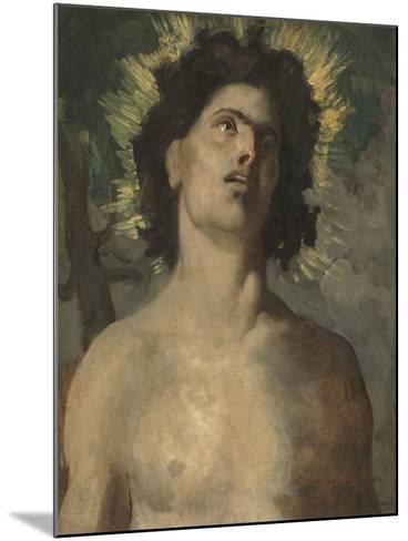 Saint Sébastien-Pierre Puvis de Chavannes-Mounted Giclee Print