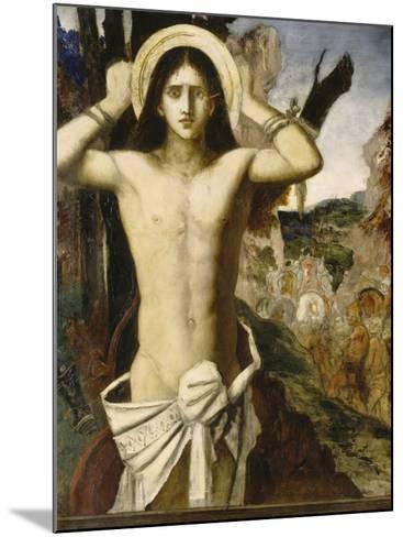 Saint Sébastien-Gustave Moreau-Mounted Giclee Print