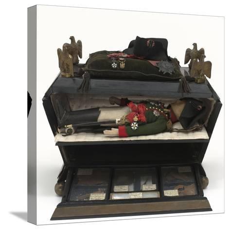 Sarcophage reliquaire--Stretched Canvas Print