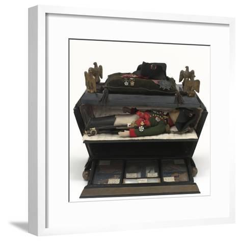 Sarcophage reliquaire--Framed Art Print