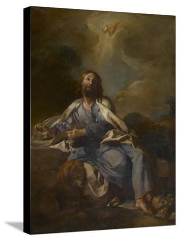 Saint Marc-Charles de La Fosse-Stretched Canvas Print