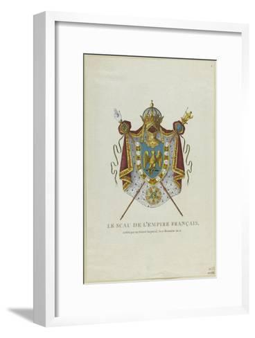 Sceau de l'Empire français--Framed Art Print